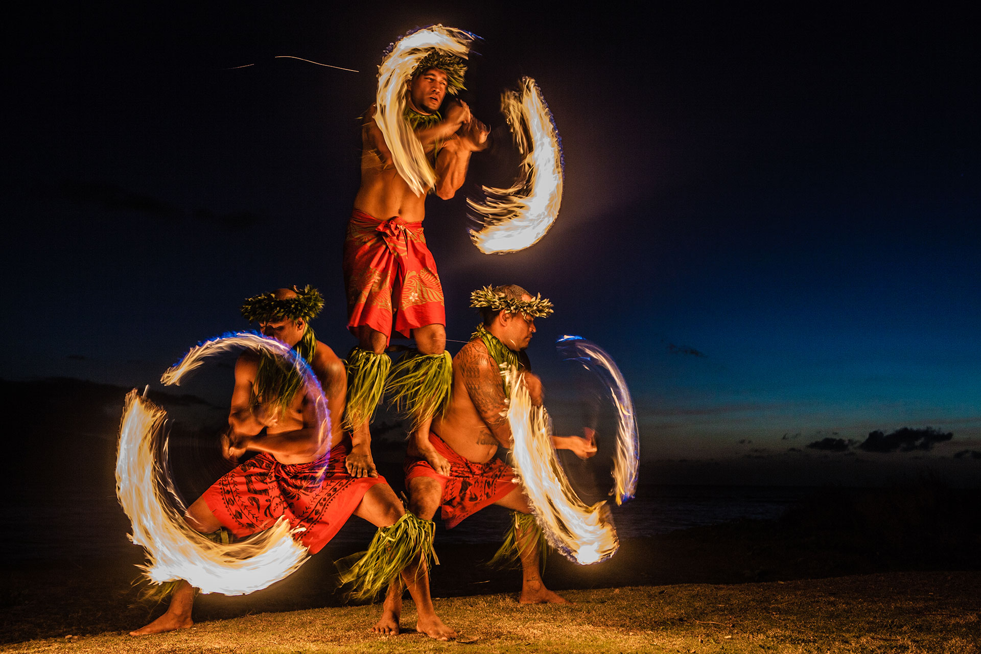 Don't miss the Drums of the Pacific Luau during your stay at Napili Bay Vacation Condo