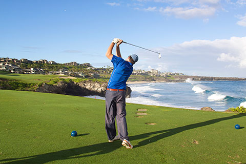 Golfing on Maui is something you have to do while on vacation.