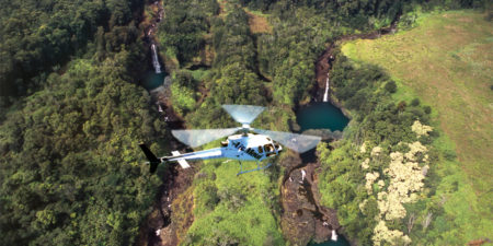 Helicopter Tours over Maui's famous waterfalls are very popular with visitors and locals alike.